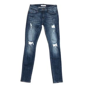 Women's eunina Maxwell Low-Rise Skinny Jeans